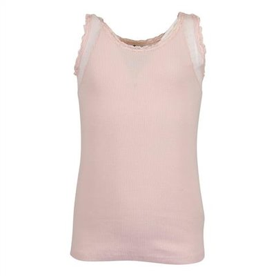 Bonpoint powder pink cotton jersey tank top