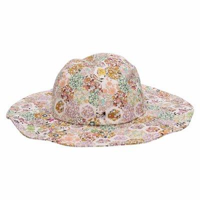 Printed cotton hat