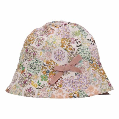 Bonpoint floral print cotton hat