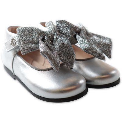 Florens silver calfskin shoes