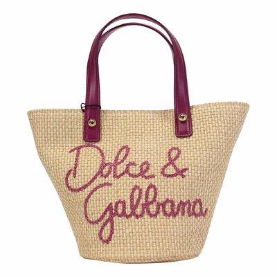 Blooming Theme logo detail cotton blend bag