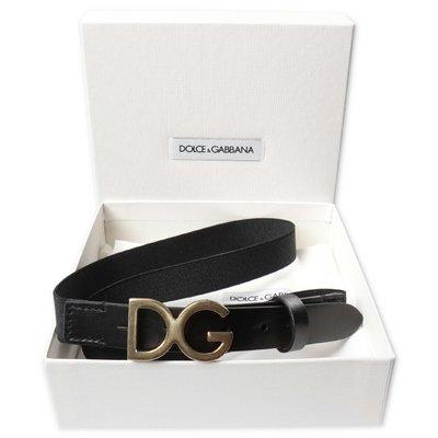 Dolce & Gabbana black elastic belt