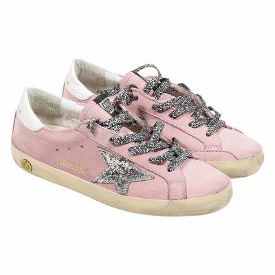 Sneakers rosa Superstar in pelle