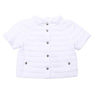 White nylon padded jacket