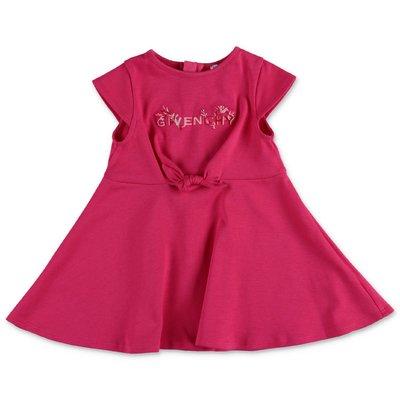 Givenchy fuchsia cotton jersey dress