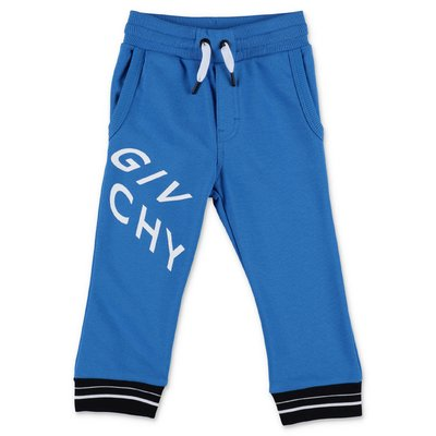Givenchy blue cotton sweatpants