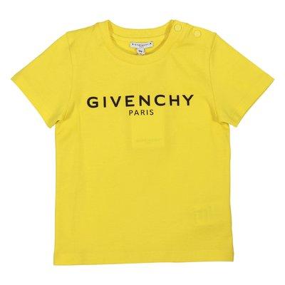 Lemon yellow vintage logo cotton jersey t-shirt