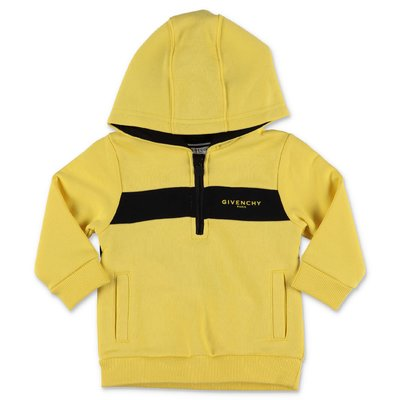 Givenchy yellow cotton blend sweatshirt hoodie