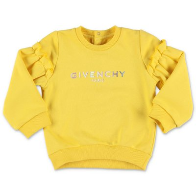 Givenchy yellow cotton sweatshirt