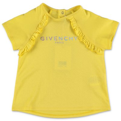 Givenchy t-shirt gialla in jersey di cotone