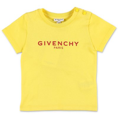 Givenchy yellow cotton jersey t-shirt