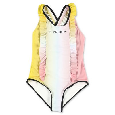 Givenchy multicolor lycra one-piece swimsuit
