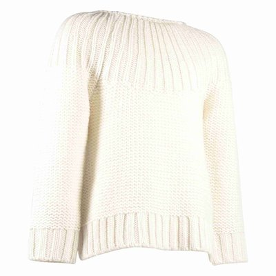 mixed wool girl knitted jumper