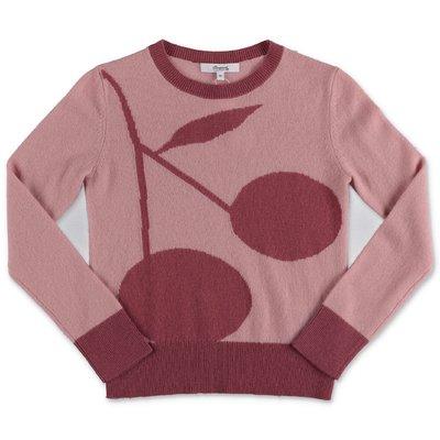 Bonpoint pullover rosa in puro cashmere
