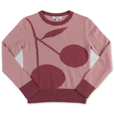 Bonpoint pink pure cashmere jumper