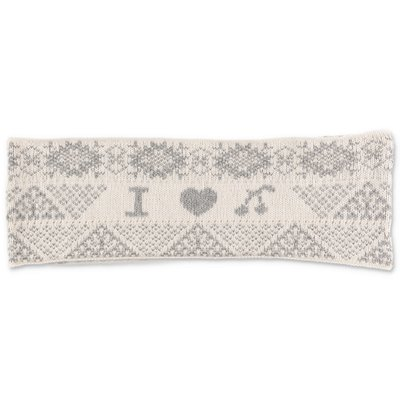 Bonpoint white wool blend snood