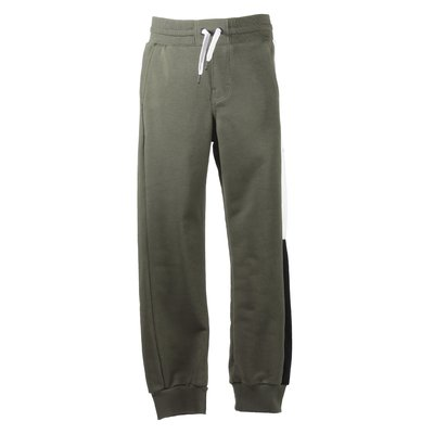 Military green logo band sweatpants