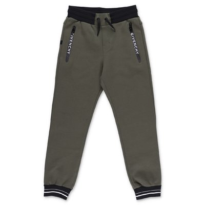 Givenchy military green cotton sweatpants