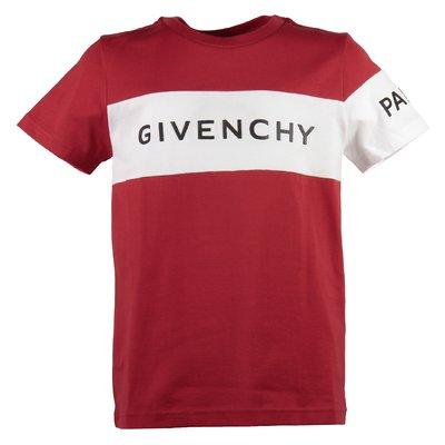Red logo cotton jersey t-shirt