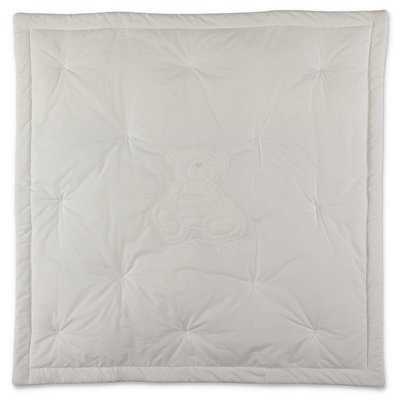 Givenchy white cotton padded blanket