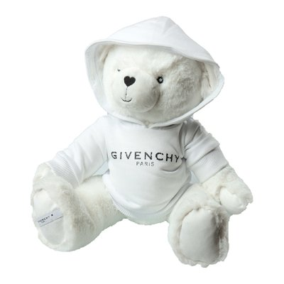 Givenchy white faux fur Teddy Bear