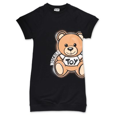 MOSCHINO Teddy Bear cotton dress