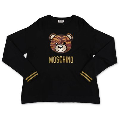 Moschino pullover nero