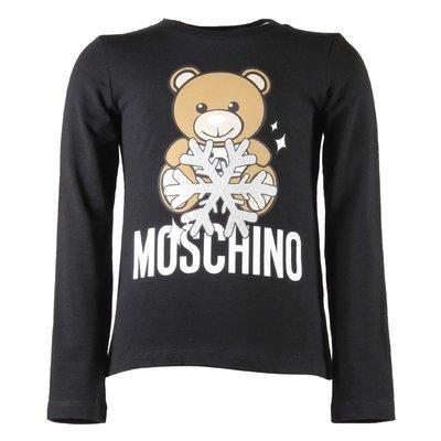 Teddy Bear black cotton jersey t-shirt