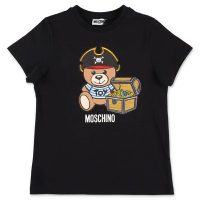 MOSCHINO Teddy Bear black cotton jersey t-shirt