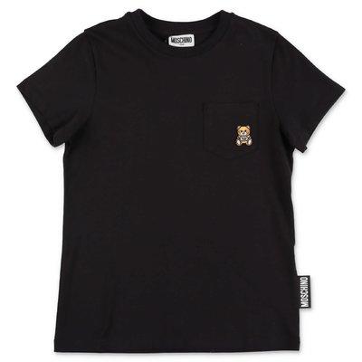 MOSCHINO Teddy Bear black cotton jersey t-shirt