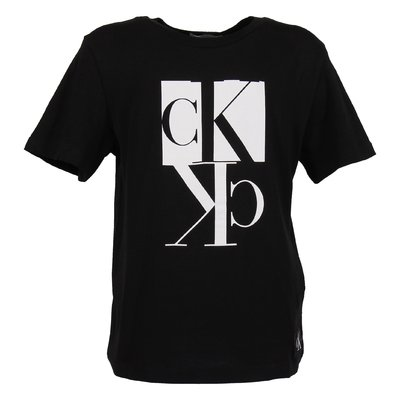 Black logo detail organic cotton jersey t-shirt