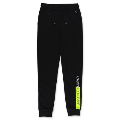 Calvin Klein black cotton sweatpants
