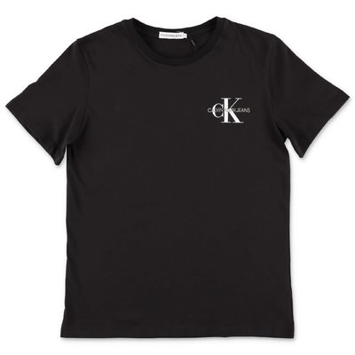 Calvin Klein black cotton jersey t-shirt