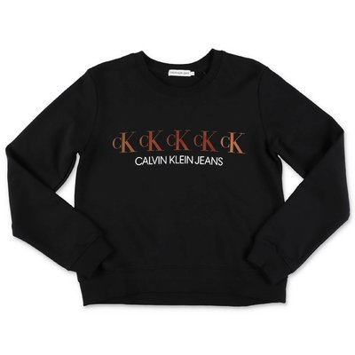 Calvin Klein black cotton sweatshirt