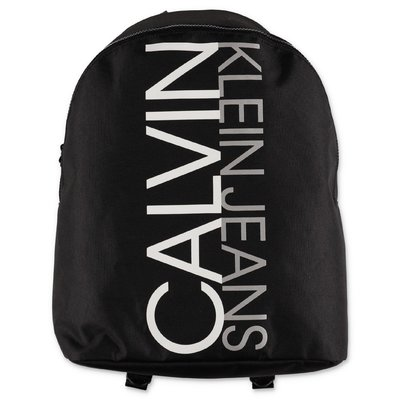 Calvin Klein zaino nero in nylon con logo