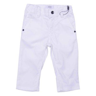 Pantaloni bianchi in cotone