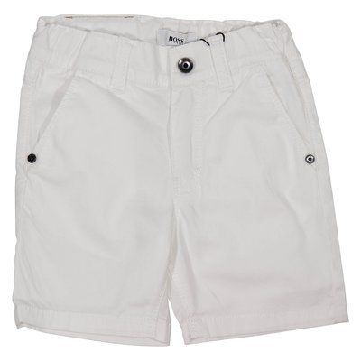 Shorts bianco in cotone