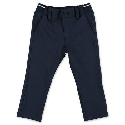 HUGO BOSS navy blue cotton pants