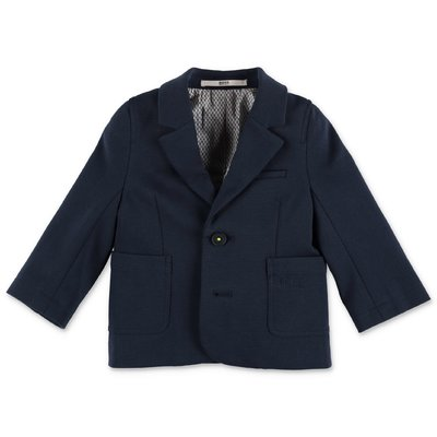 Hugo Boss navy blue cotton jacket
