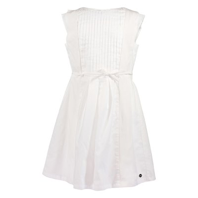 White cotton muslin dress