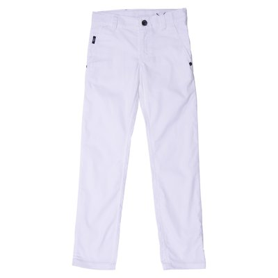 White cotton pants