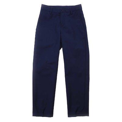 Pantaloni blu navy in lana