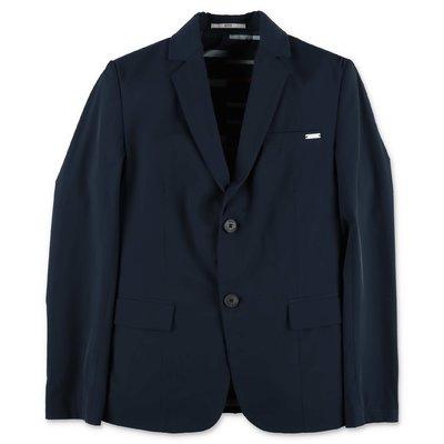 Hugo Boss navy blue techno jacket