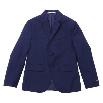 Deep blue wool jacket