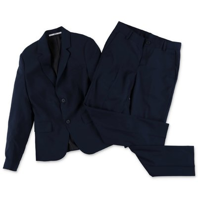 Hugo Boss completo blu con giacca e pantaloni