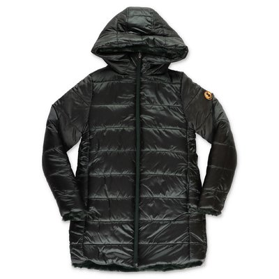 Save the Duck green reversible jacket with hood