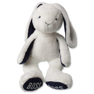 HUGO BOSS white bunny doudou