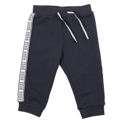 Pantaloni in felpa di cotone con logo