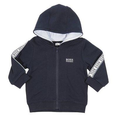 Logo  cotton blend sweatshirt hoodie