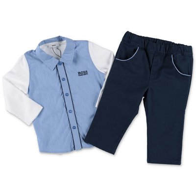 Hugo Boss cotton shirt and pants set